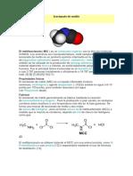 Isocianato de Metilo