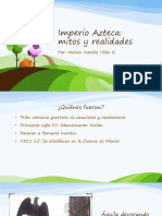 Unidad 2 Aztecas - Helden Natalia Vélez G.