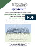 Acidos Fulvicos Vinazas LignoKaña en Aplicaciones Agronómicas