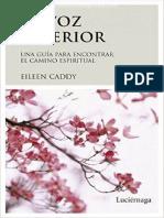 LA VOZ INTERIOR - EILEEN CADDY.pdf