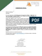Invitacion Lanzamiento SIMIN 2019, Ministerio.pdf