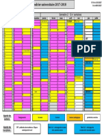 Calendrier Universitaire 2017-2018
