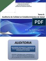 Auditoria de Calidad en Establecimientos de Salud
