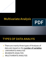 01 Multivariate Analysis