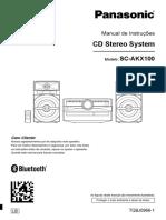 Manual de Instruções AKX 100