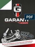 Manual de Especificaciones Tecnicas Automotriz Garanti