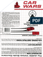 Car Wars - SJG - 7133 - Aada Vehicle Guide 2 Counters