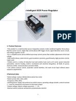 11-SCR Power Regulator
