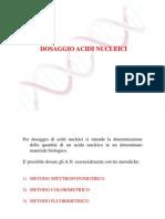 Dosaggio Acidi Nucleici