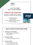 CIRCULAR MOTION Vertical Horizontal UCM AHJ July2017 StdntVer