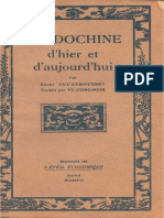 (1926) Đông Dương Ngày Xưa Và Ngày Nay - Henri Cucherousset