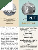 Medaglia Della SAlvezza Preghiera