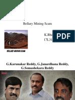 Bellary Mining Scam Ppt