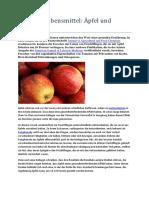 Gesunde Lebensmittel - Aepfel Und Tomaten