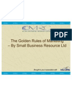 Golden Rules of Marketing