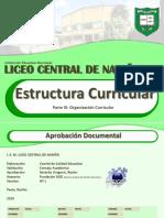 3. Estructura Curricular