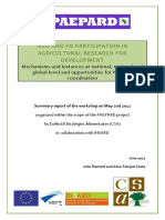 PDF NGO and FO Participation to ARD -PAEPARD Consultation Report