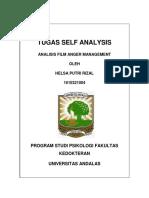 Tugas Self Analysis