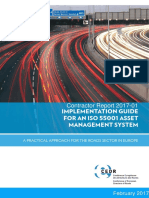 CEDR Contractor Report 2017 1 Implementation Guide for an ISO 55001 Managementt System