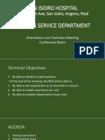 Sih Nsd Department Meeting 1