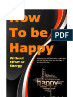 000 How to Be Happy - By Phil Booker