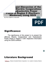 Mapping the Different Electric Cooperatives and Hydroelectric Power