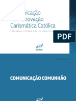 Cap 1 - Comunicação Na Renovação Carismática Católica