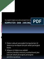Materi Komputer Dan Jaringan Dasar 8.3 Langkah-langkah Perawatan Perangkat Keras Komputer