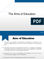 The Aims of Education.pptx