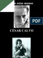César Calvo - Con Estas Manos - Poesía