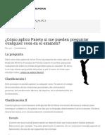 ¿Cómo aplico Pareto si me pueden preguntar cualquier cosa en el examen_ - El Arte de la Memoria.org.pdf