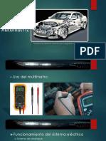 Presentación Sistema Automotriz