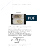 Commonly Used Sutures in Plastic Surgery