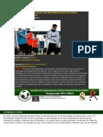 Análisis Del Calentamiento Del Real Madrid Club de Fútbol, Temporada 20112012