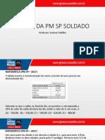 Matemática PM SP 2017 - Josimar Padilha