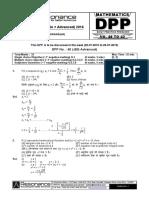 XI Maths DPP (17) - Prev Chaps - Trig