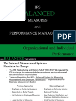 Irs Balanced Measures Presentation