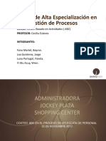 Costeo ABC en El Proceso de SDP de AJPSC