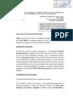 Casación 1396-2015-Del Santa - Experiencia Laboral de Muchos Años No Puede Suplir Falta Del Título Profesional