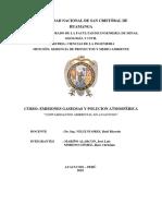 Contaminación Ambiental Ayacucho