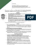 Recurso de Revocatoria (Moroni - Formato Sin Datos)