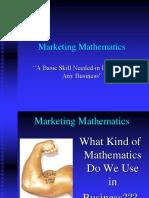 Marketing Mathematics.ppt