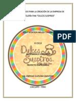 Proyecto Final Pasteleria Dulces Suspiros