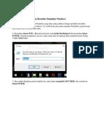 Langkah Cara Membuat Bootable Flashdisk Windows