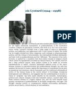 Lyotard full