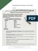PG Datasheet CAT Perkins SV Linear