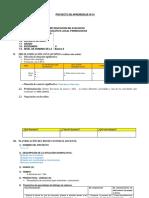 Esquema Proyecto de Aprendizaje Nº 01
