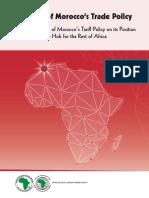 Analyse de La Politique Commerciale Du Maroc Volume 2 Anglais