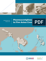 Pharmacovigilance in asian countries