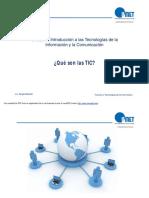 Introduccion a Las TIC QUE SON LAS TICS